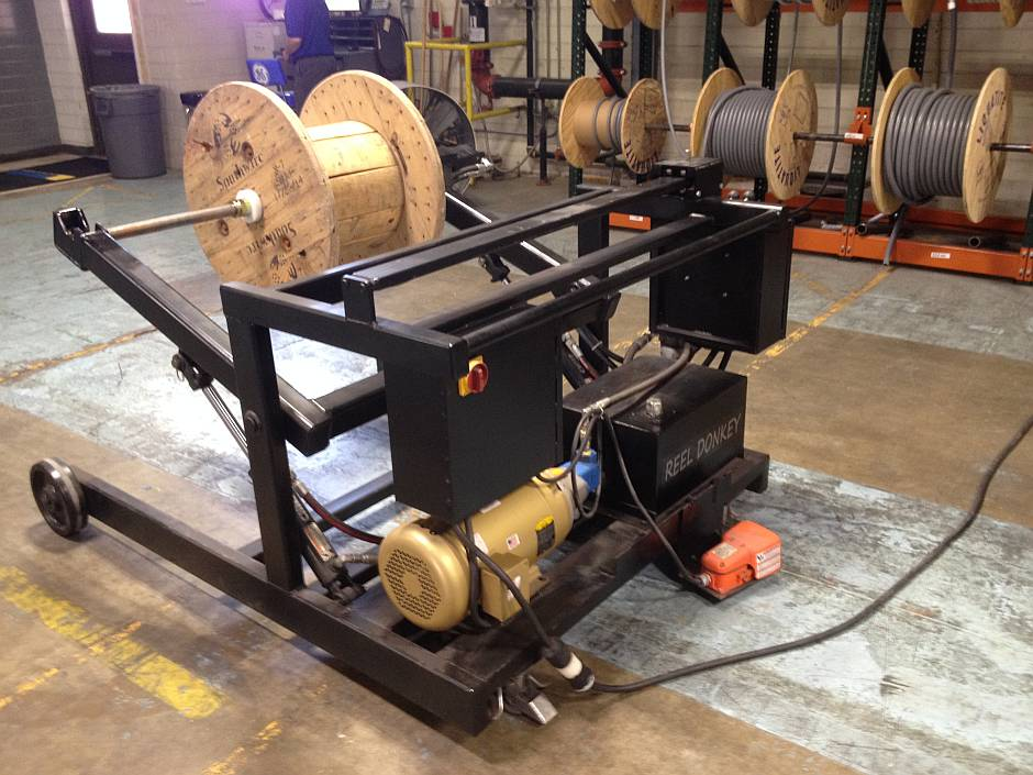 reel spooler machine