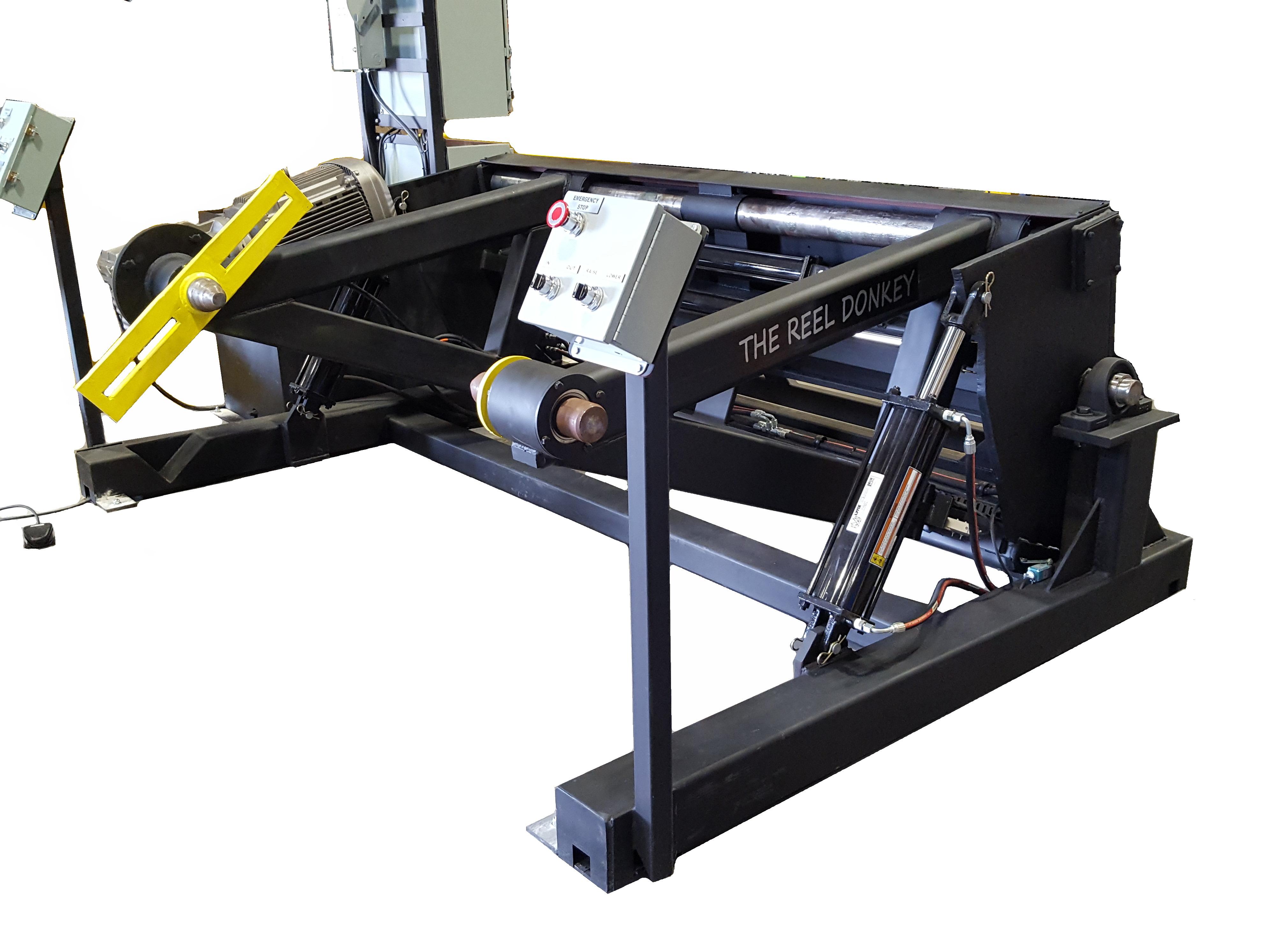 floor mounted shaft-less take ups